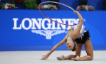 Dina Averina, RUS, during hoop final of 2017 World Championships in Pesaro; 30/08/2017; Foto: SCHREYER